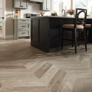 Glee chevron tile flooring | Warnike Carpet & Tile