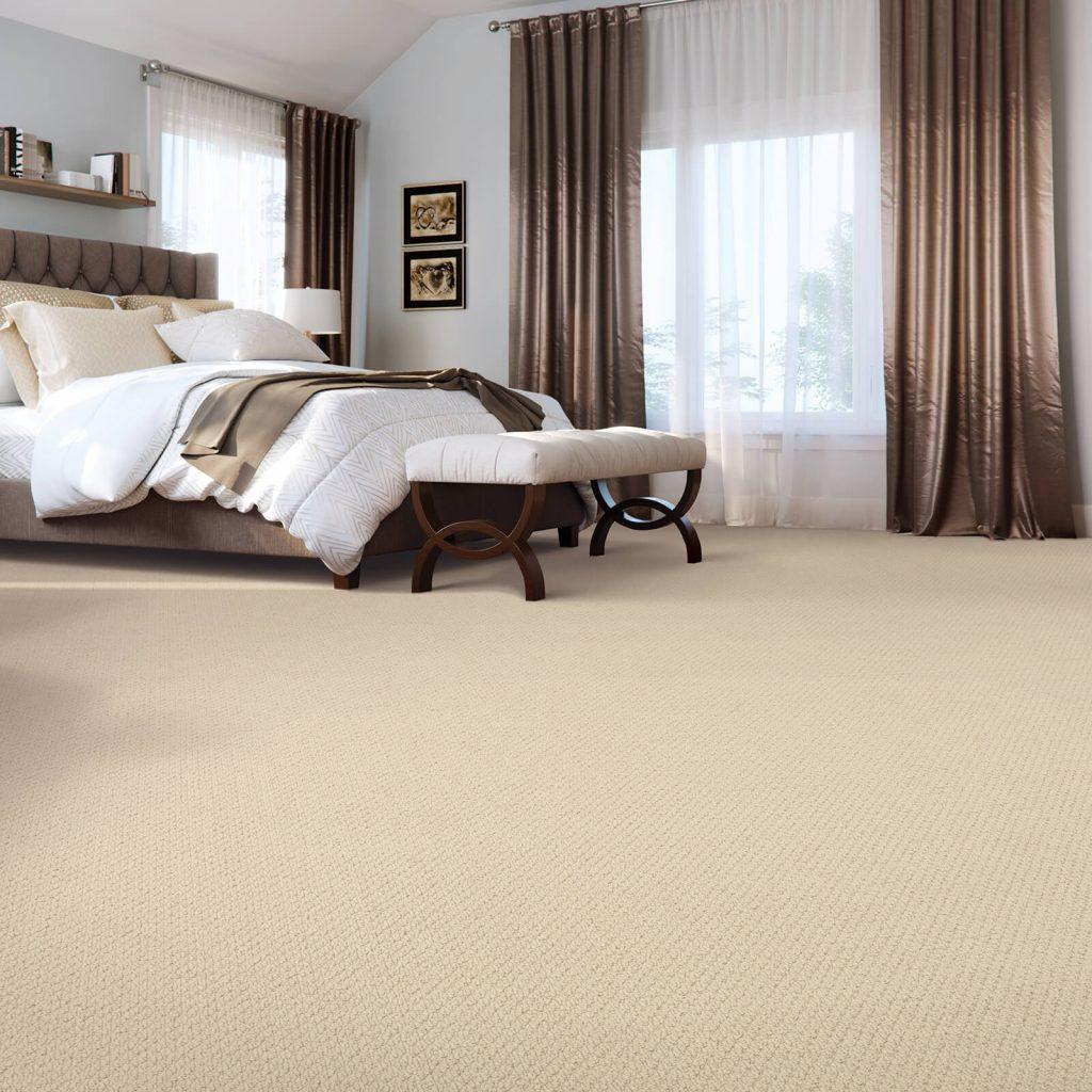 New carpet in bedroom | Warnike Carpet & Tile