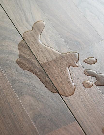 Spill on vinyl | Warnike Carpet & Tile