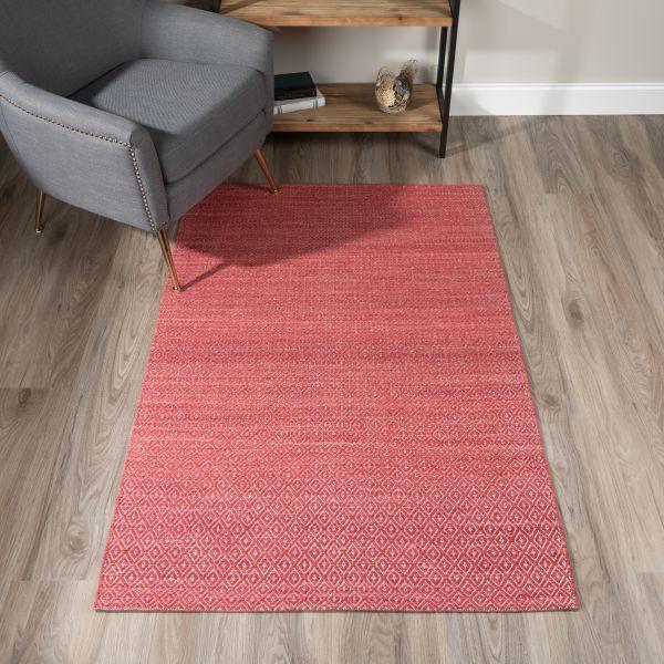 Red area rug | Warnike Carpet & Tile