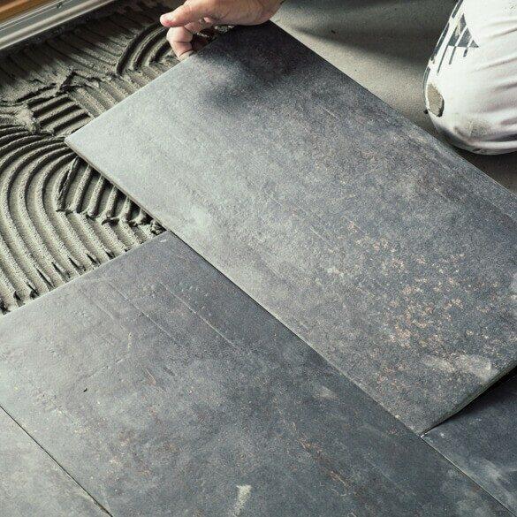 Tile installation | Warnike Carpet & Tile